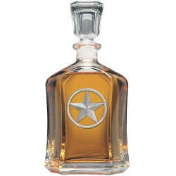 Lone Star Capitol Decanter