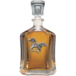 Pony Fetish Capitol Decanter