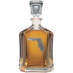 Florida Capitol Decanter