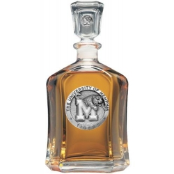 University of Memphis Capitol Decanter