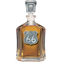 Route 66 Capitol Decanter