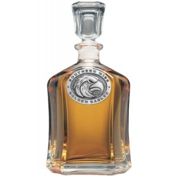 University of Southern Mississippi Capitol Decanter