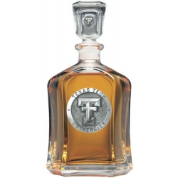 Texas Tech University Capitol Decanter