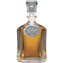 University of Virginia Capitol Decanter