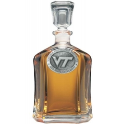 "Virginia Tech University ""VT"" Capitol Decanter"