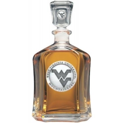West Virginia University Capitol Decanter
