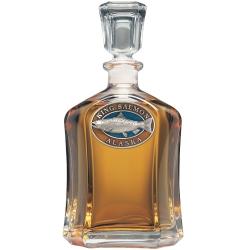 King Salmon Capitol Decanter - Enameled