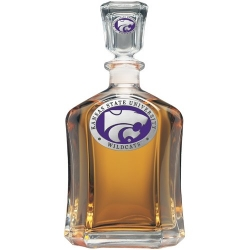 Kansas State University Capitol Decanter - Enameled