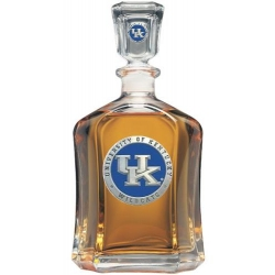 University of Kentucky Capitol Decanter - Enameled