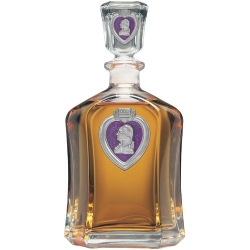Purple Heart Capitol Decanter - Enameled