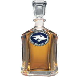 University of Nevada Capitol Decanter - Enameled