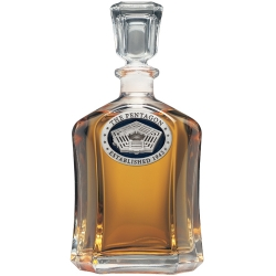 Pentagon Capitol Decanter - Enameled