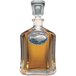 Halibut Capitol Decanter - Enameled