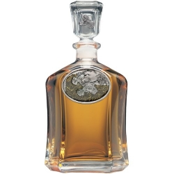 Ruffed Grouse Capitol Decanter - Enameled