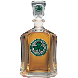 Clover Capitol Decanter - Enameled