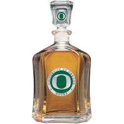 University of Oregon Capitol Decanter - Enameled