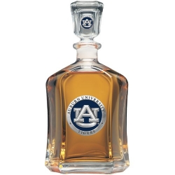 Auburn University Capitol Decanter - Enameled