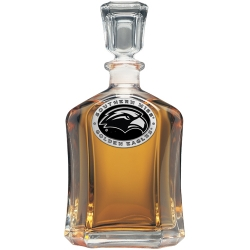 University of Southern Mississippi Capitol Decanter - Enameled