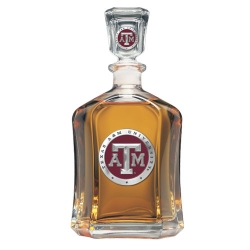 Texas A&M University Capitol Decanter - Enameled
