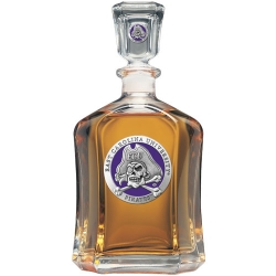 East Carolina University Capitol Decanter - Enameled
