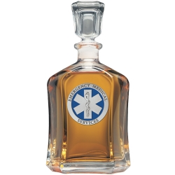 EMS Capitol Decanter - Enameled