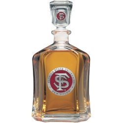 Florida State University Capitol Decanter - Enameled