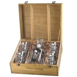 Coyote Capitol Decanter Set w/ Box
