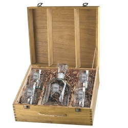 Alaska Capitol Decanter Set w/ Box