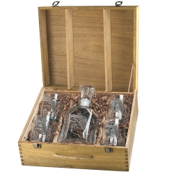 Florida Capitol Decanter Set w/ Box