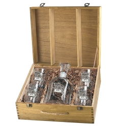 Missouri Capitol Decanter Set w/ Box