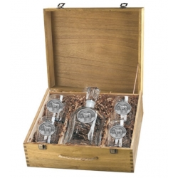 Racehorse Capitol Decanter Set w/ Box #2