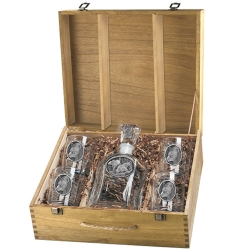 Black Bear Capitol Decanter Set w/ Box
