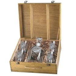 Rhino Capitol Decanter Set w/ Box