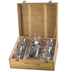 Walrus Capitol Decanter Set w/ Box