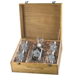 Birdhouse Capitol Decanter Set w/ Box