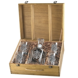 Anchor Capitol Decanter Set w/ Box