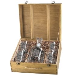 Sea Turtle Capitol Decanter Set w/ Box