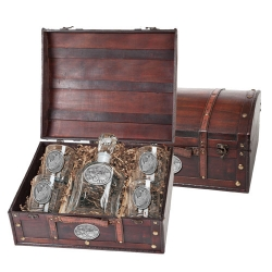 Rhino Capitol Decanter Set w/ Chest