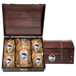 Georgia Southern University Beer Set w/ Chest - Enameled