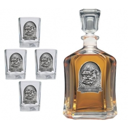 "University of Georgia ""Bulldog"" Capitol Decanter Set"