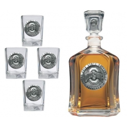 Ohio State University Capitol Decanter Set