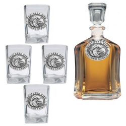 University of Southern Mississippi Capitol Decanter Set