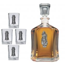 Golf Bag Capitol Decanter Set