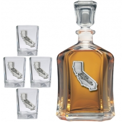 California Capitol Decanter Set