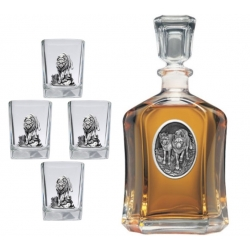 Wolves Capitol Decanter Set #2