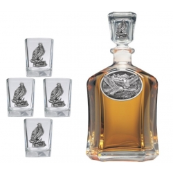 Eagle Capitol Decanter Set