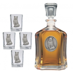 Fox Capitol Decanter Set