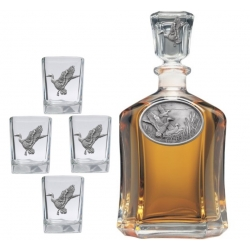 Mallard Duck Capitol Decanter Set