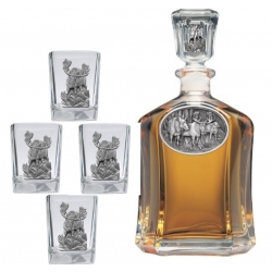 Moose Capitol Decanter Set