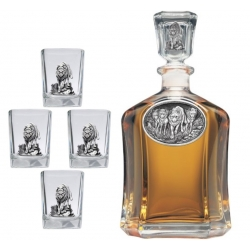 Wolves Capitol Decanter Set